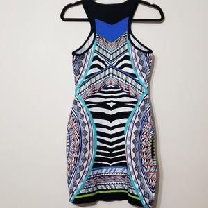 Express Geometric Print Dress, sz S